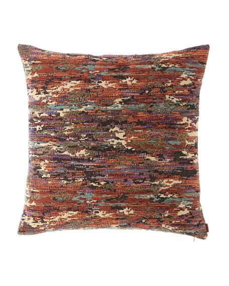 "Waterloo Pillow, 24""Sq."