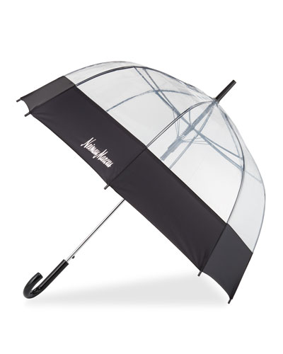 Auto Open Bubble Stick Umbrella