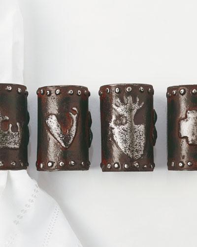 Milagro Napkin Rings  Set of 4