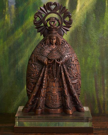 La Macarena Virgen Statue