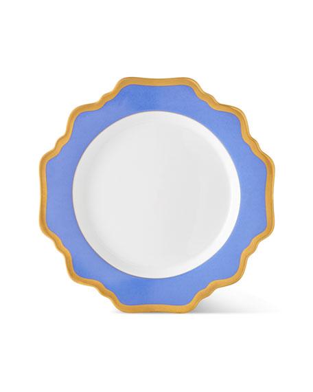 Indigo Rimmed Salad Plate
