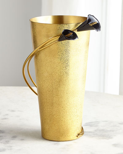Calla Lily Midnight Large Vase