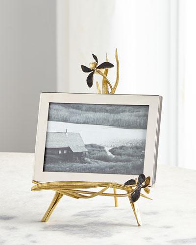 Black Iris Easel Frame  5 x 7