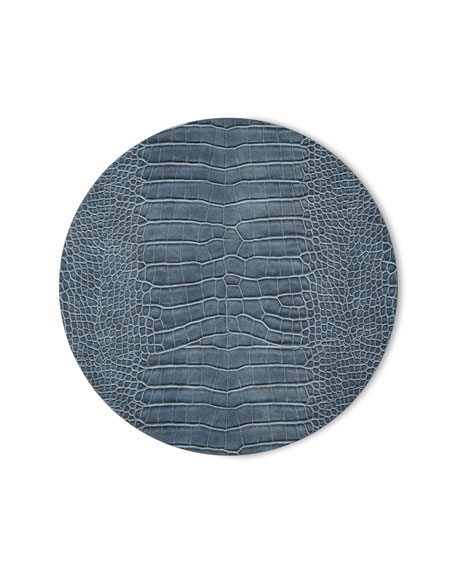Croc Embossed Placemat
