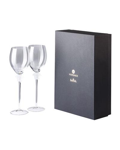 Medusa Lumiere Wine Glasses  Set of 2