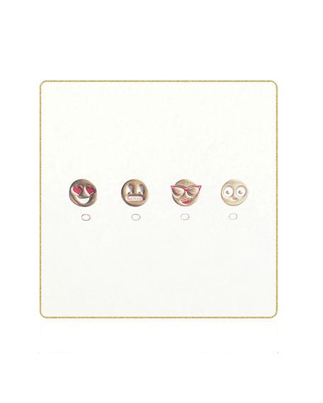 Emoji Coasters, Set of 18