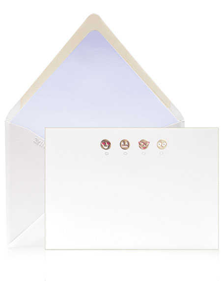 Emoji Stationery Set, Box of 12