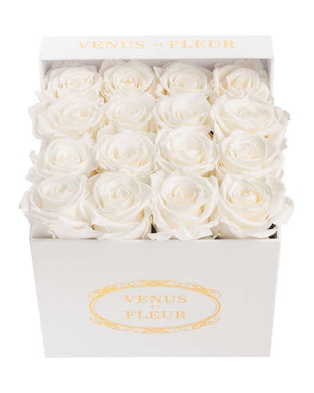 Image 1 of 1: Classic Small Square Rose Box