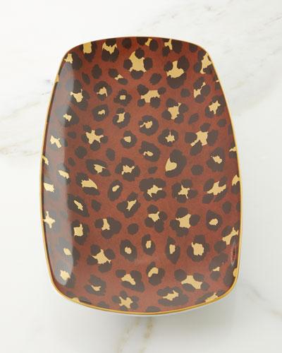 Leopard Medium Tray