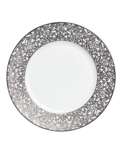 Salamanque Platinum Dinner Plate