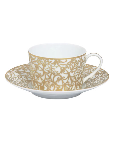 Salamanque Gold Teacup