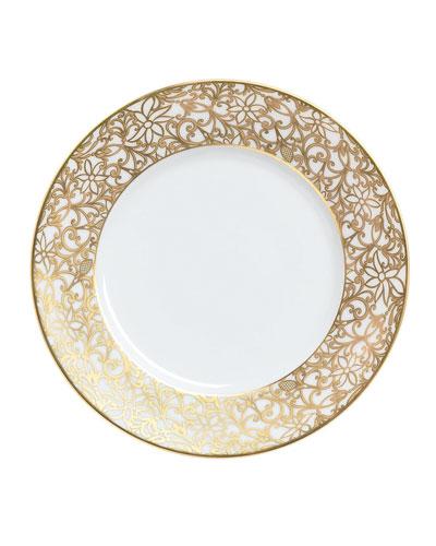 Salamanque Gold Salad Plate