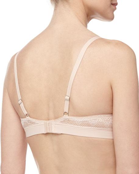Mademoiselle Memory-Foam T-Shirt Bra, Nude Blush