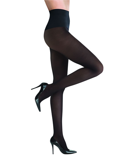 Commando Semi-Opaque Tights, Black