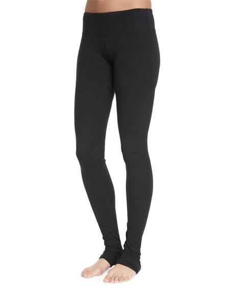 078d1bb1600ca Alo Yoga Goddess 2 Colorblock Ribbed Sport Leggings, Black