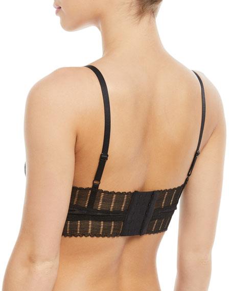 Lolita Long-Line Lace Full-Coverage Wire-Free Bra
