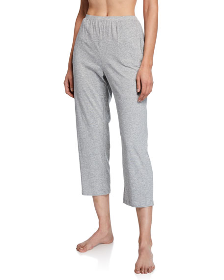 Image 1 of 1: Oaklie Cropped Cotton Lounge Pants
