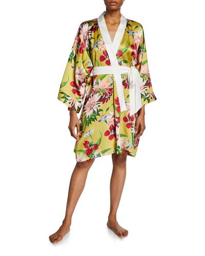 Mimi Havana Floral Short Robe