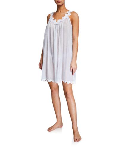 Palace Sleeveless Mousseline Nightgown