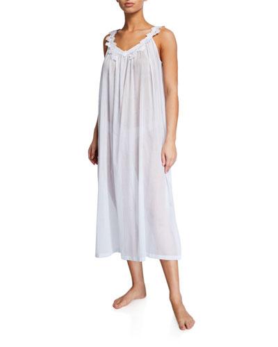 Palace V-Neck Sleeveless Nightgown