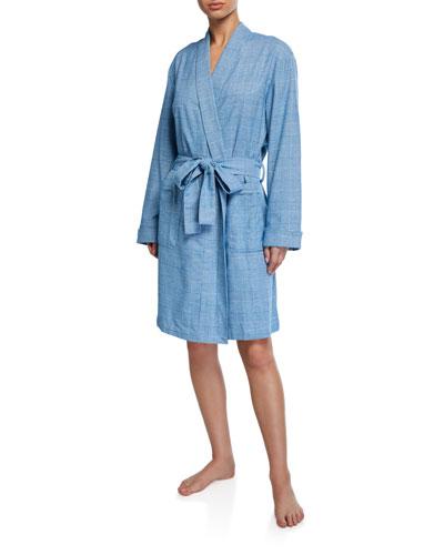 Kelburn Plaid Kimono Robe