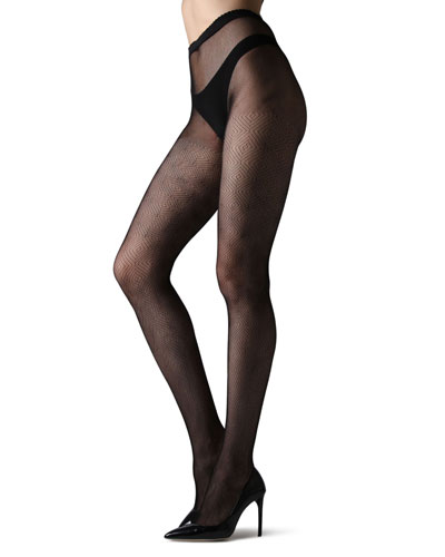 Diamond Geo-Net Tights