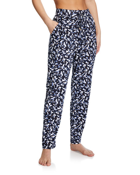 Image 1 of 1: Printed Lounge Knit Pants