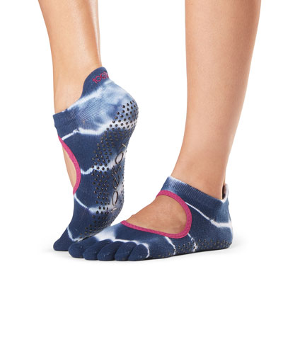 Ballerina Cosmic Grip Full Toe Athletic Socks