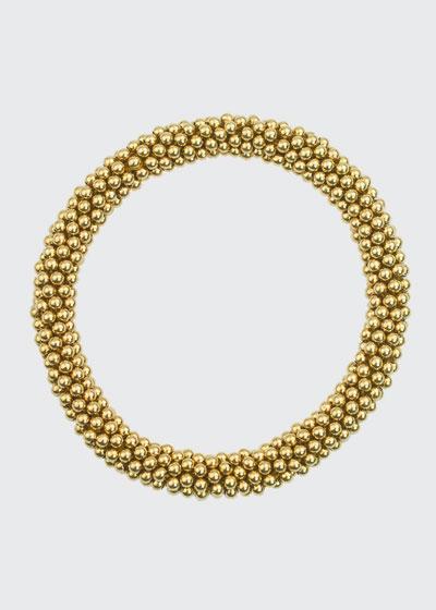 Graham 14K Gold Bead Bracelet