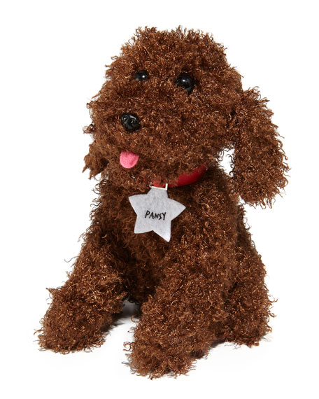 Image 1 of 1: Pansy the Poodle Stuffed Dog