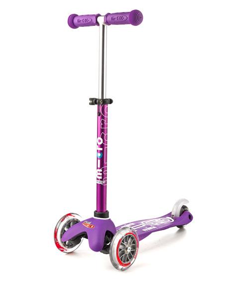 Micro Mini Deluxe Kick Scooter, Purple, Ages 2-5