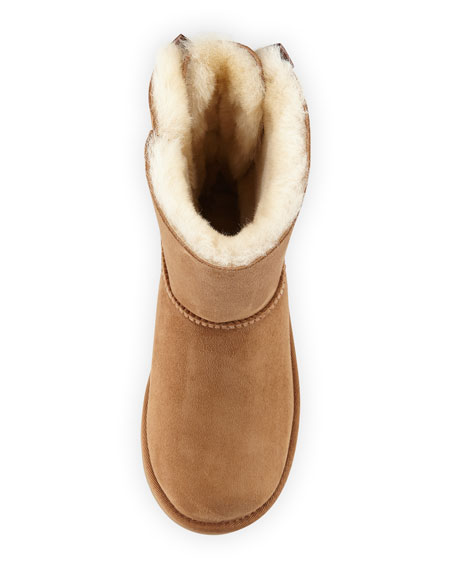 Bailey Bow II Sheepskin Boot, Kid Sizes 13T-6Y