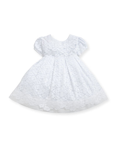 Gala Organdy Lace Dress w/ Bloomers  Size 3-24 Months