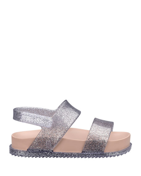 Cosmic Glittered Sandal, Baby/Toddler