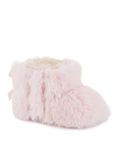 Jesse Bow II Fluff Boots  Baby