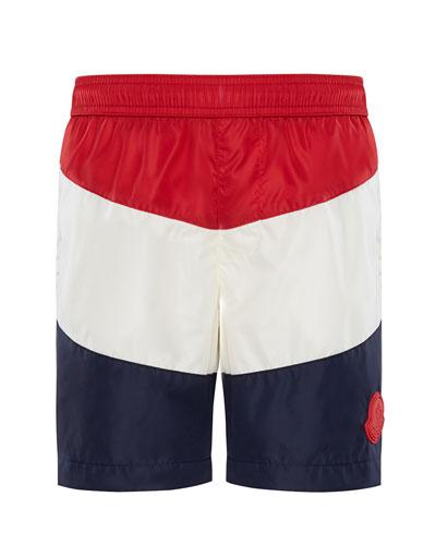 Colorblock Swim Trunks  Size 4-6