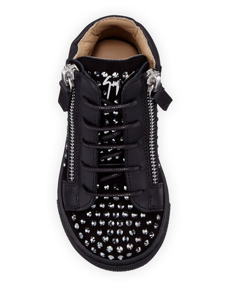 Boy's Studded High-Top Sneakers, Baby/Toddler