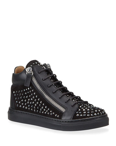 Boy's Studded High-Top Sneakers  Toddler/Kids