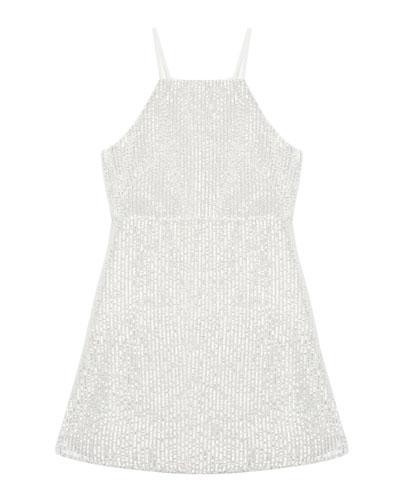 Averly Sequined Slip Dress  Size 8-16