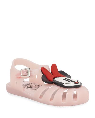 Mini Aranha Mickey & Friends Cutout Sandal  Baby/Toddler/Kids