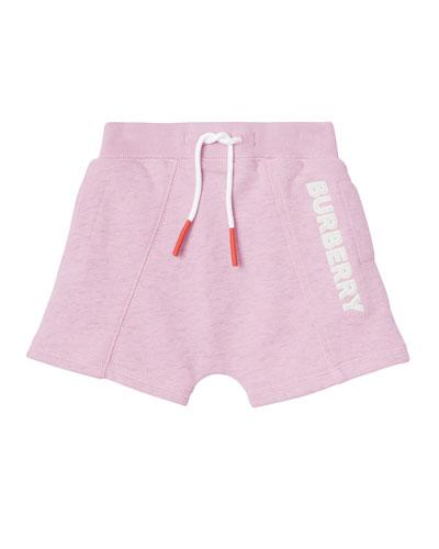 Derick Fleece Embossed Logo Shorts  Size 6M-2
