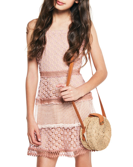 Kristen Multi Lace Dress, Size 8-16
