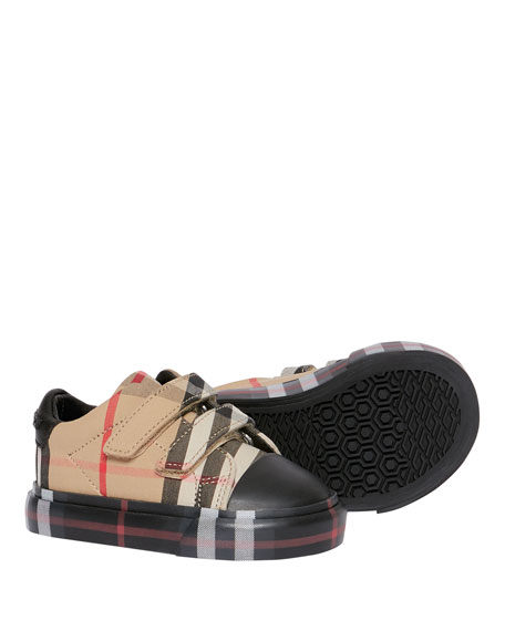 Kid's Mini Markham Check Sneakers, Baby