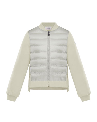 Maglia Knit & Quilted Combo Jacket  Size 4-6