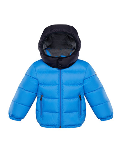 Perols Quilted Hooded Puffer Jacket  Size 12M-3