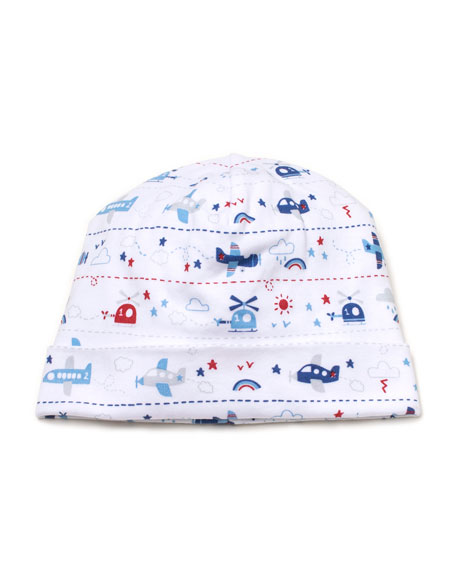 Sky Riding Printed Baby Hat