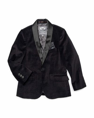 Boy's Shawl Collar Blazer  Size 2-10