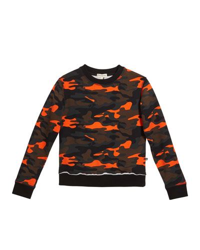 Highland Camo Sweatshirt  Size 2-10