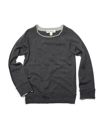 Jackson Roll Neck Raglan Shirt  Size 2-10