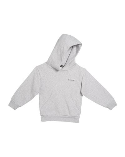 Kid's Logo Cotton Hoodie  Size 2-10